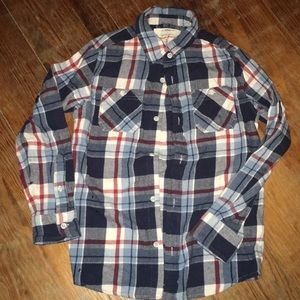 Awesomely soft boys flannel shirt